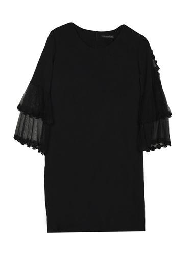 Lafaba Elbise Siyah